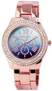 Armbanduhr Blau Rosé Metall Excellanc 1800023