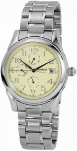 Armbanduhr Gelb Silber Metall Engelhardt 385724028056