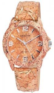Armbanduhr Kork Holzmotiv Typ 73 Leder Excellanc