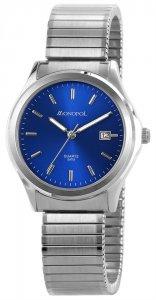 Armbanduhr Blau Silber Monopol