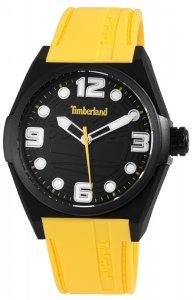 Armbanduhr Schwarz/Weiß Gelb Silikon Timberland TBL13328JPB/02
