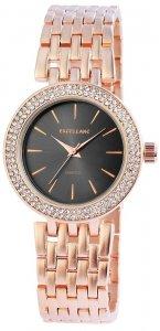 Armbanduhr Anthrazit Rosé Crystal Metall Excellanc