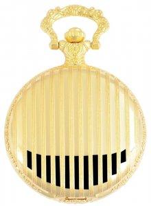 Taschenuhr Golden Metall Classix