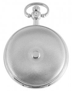 Taschenuhr Silbern Metall Handaufzug Excellanc