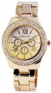 Armbanduhr Gelb Gold Metall Excellanc