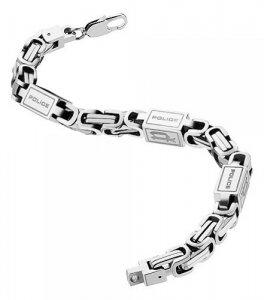 Armband Silbern Edelstahl S 20cm POLICE PJ24654BSS/01-S