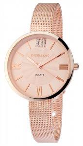 Armbanduhr Rosé Crystal Metall Excellanc