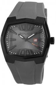 Armbanduhr Schwarz Grau Anthrazit Silikon POLICE PL.13834JSB/13