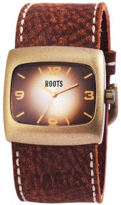Armbanduhr Braun Bronze Leder ROOTS R560LTRI