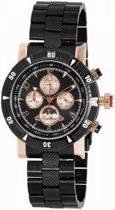 Armbanduhr Schwarz Rosé Metall Engelhardt 387741028005