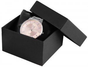 Uhrenbox Karton Schwarz 7,5x8,5 cm