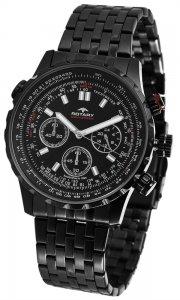 Armbanduhr Schwarz Chronograph ROTARY GB00177/04