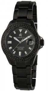 Armbanduhr Schwarz Metall CARUCCI CA2200ST-BK-BK