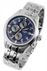 Armbanduhr Blau Silber Chronograph ROTARY GB02680/05