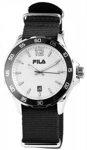 Armbanduhr Weiss Schwarz Textil FILA 38-822-004