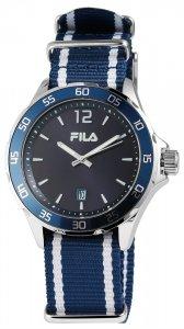 Armbanduhr Blau Weiss Textil FILA 38-822-005