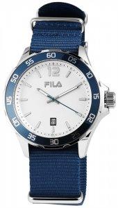 Armbanduhr Weiss Blau Textil FILA 38-822-002