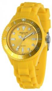 Armbanduhr Gelb Silikon Madison U4167-2-2