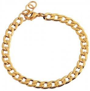 Armband Gold Edelstahl Akzent 18-19cm 5030334