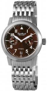 Armbanduhr Braun Silber Metall Engelhardt 388927028002