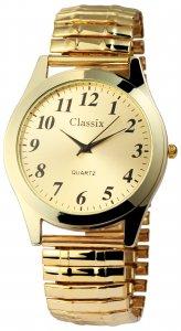Armbanduhr Gold Metall Zugband Classix 2700004-002