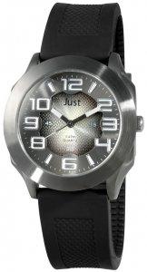 Armbanduhr Schwarz Silikon JUST JU20058