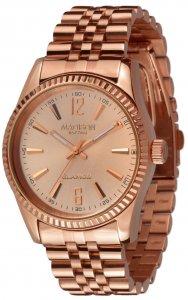 Armbanduhr Rosé Metall Madison L4791E2 GLAMOR® Angie Rosegold