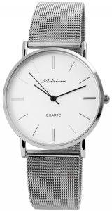 Armbanduhr Silber Metall Adrina 1800100-003