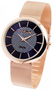 Armbanduhr Blau Rose Crystal Metall Excellanc 1800090
