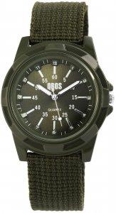 Armbanduhr Grün Textil QBOS 2900078