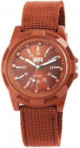 Armbanduhr Braun Textil QBOS 2900078