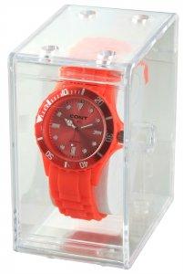 Uhrenbox Kunststoff transparent 9,8x5,7x8,4 cm