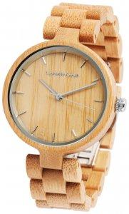 Armbanduhr Holz Braun Leonardo Verrelli 1800133