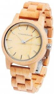 Armbanduhr Holz Braun Ahorn Leonardo Verrelli 2800025
