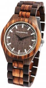 Armbanduhr Holz Braun Sandelholz Leonardo Verrelli 2800038