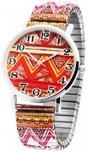 Armbanduhr Bunt Gypsy Metall Zugband Excellanc 1700035