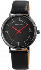 Armbanduhr Schwarz Kunstleder Excellanc 2900110
