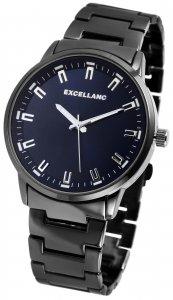 Armbanduhr Blau Schwarz Metall Excellanc 2800039