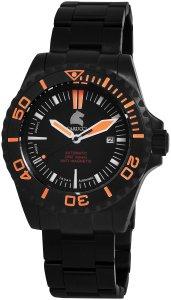 Armbanduhr Schwarz Orange Automatik CARUCCI CA4401BK-OR