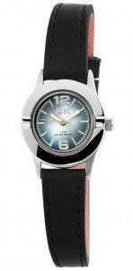 Armbanduhr Blau Schwarz Kunstleder JUST JU10152