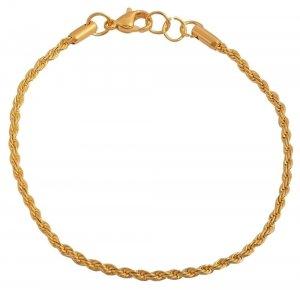 Armband Gold Edelstahl 18cm Akzent 5030232