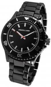 Armbanduhr Anthrazit Metall Excellanc 2800040-003