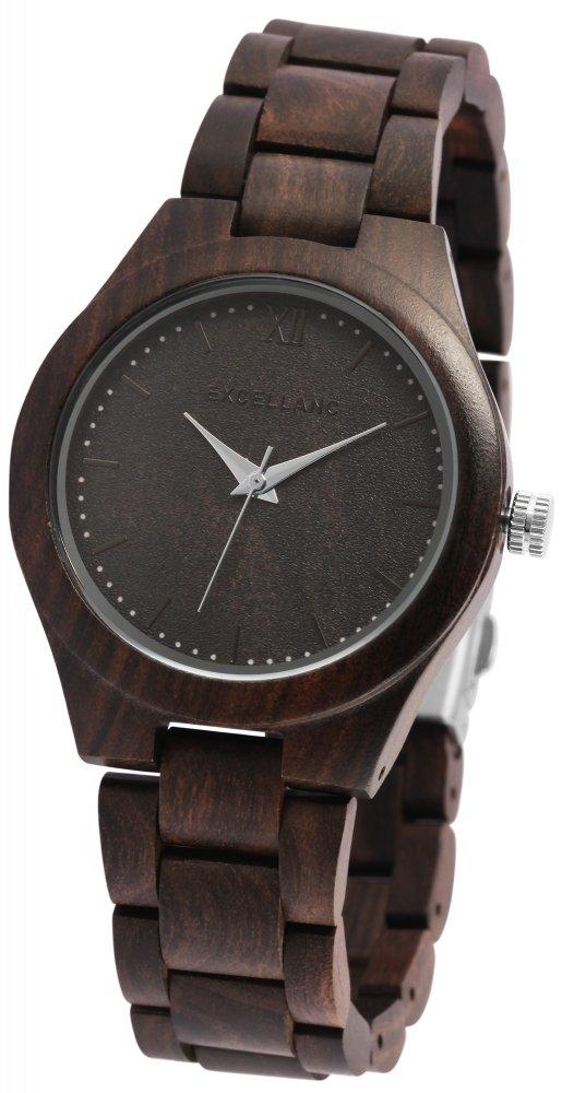Armbanduhr Holz Sandelholz Braun Excellanc 1800157
