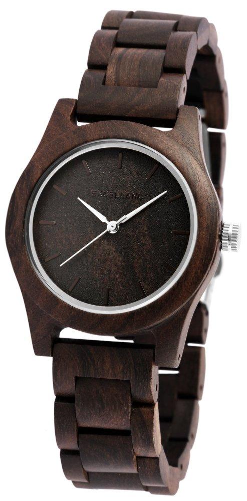 Armbanduhr Holz Sandelholz Braun Excellanc 1800156