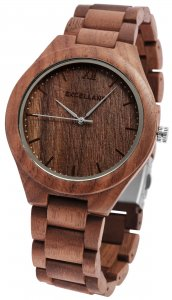 Armbanduhr Holz Walnussholz Braun Excellanc 2800049