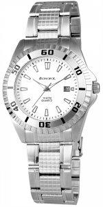 Armbanduhr Weiß Silber Edelstahl Monopol 332022000004