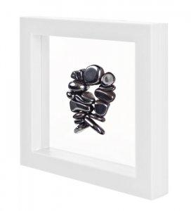 3D Schweberahmen Objektrahmen 100x100 ECO WEISS
