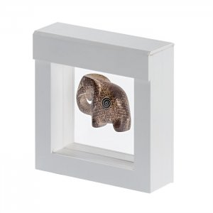 3D Schweberahmen Objektrahmen  70x70 WEISS