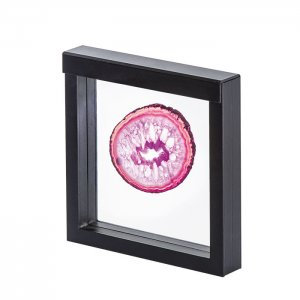 3D Schweberahmen Objektrahmen 150x150 SCHWARZ