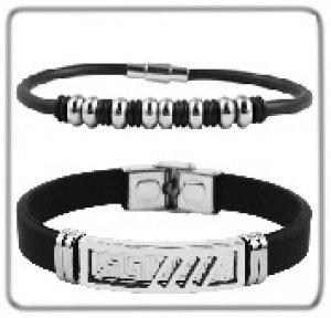Armbänder aus Kautschuk